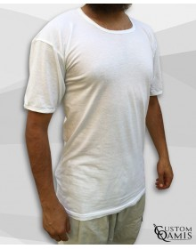Cotton white t-shirt