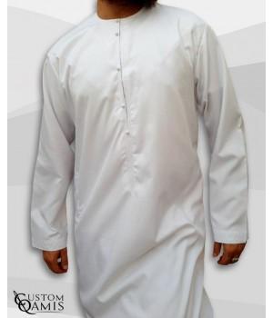 Emirati Kamees White