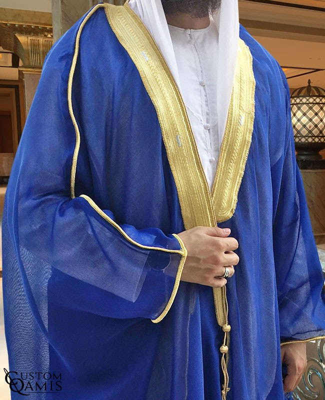 Bisht - Custom-made - Royal Blue