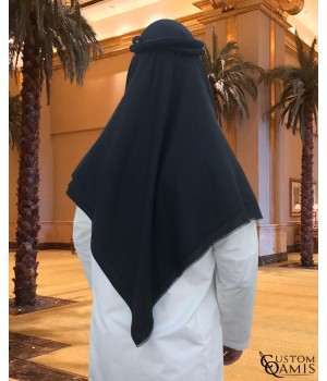 Shemagh for Winter - Black