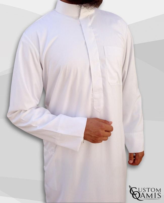Qamis Saoudien Blanc