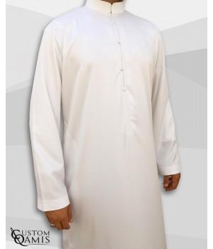 Qamis Abadi Blanc