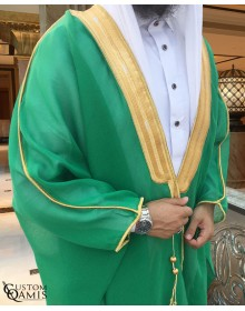 Bisht - Custom-made - green
