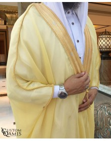 Bisht - Custom-made - yellow