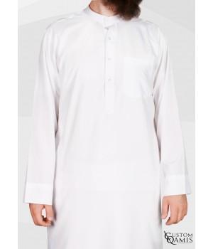 Koweti Thobe White Spring Fabric