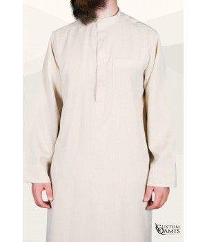 Koweti Thobe beige Imperial Fabric