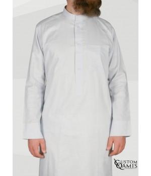 Koweti Thobe light grey Linen Fabric