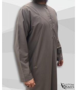 Emirati Thobe fabric Cashmere Wool Taupe