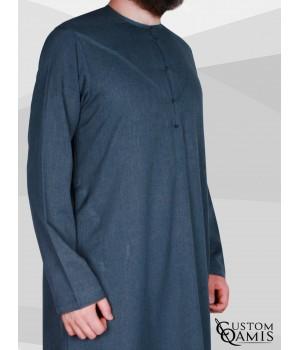 Emirati Thobe fabric Imperial Dark Bluish Grey