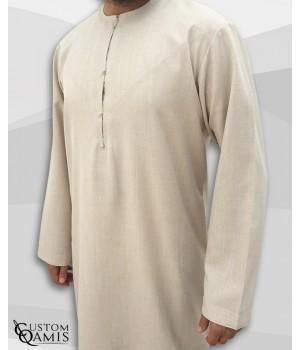 Emirati Thobe fabric Imperial beige