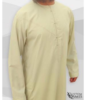 Emirati Thobe fabric Cotton Anis