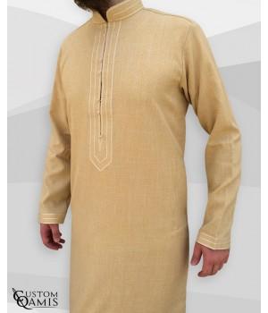 Qamis Sultan Imperial Mustard