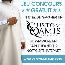 Contest: Win a Custom-Qamis by participating!